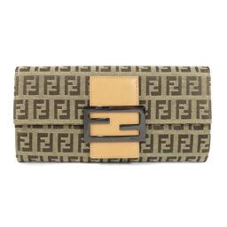 Fendi Zucca Pattern Purse (with coin purse) Ladies