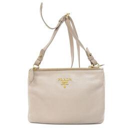 Prada 1BH046 Logo Shoulder Bag Ladies