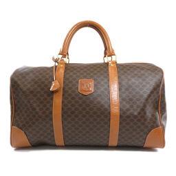 Celine Macadam Pattern Boston Bags Ladies
