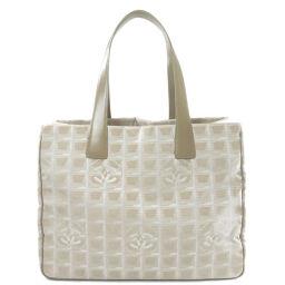 Chanel New Travel Line MM Tote Bag Ladies