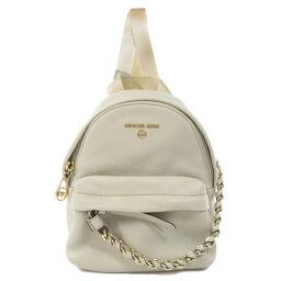 Michael Kors Chain Motif Backpack Daypack Ladies