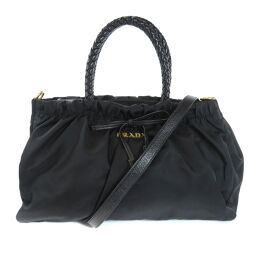 Prada 2WAY Handbags Ladies