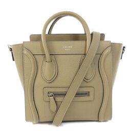 Celine Luggage Nano Handbag Ladies