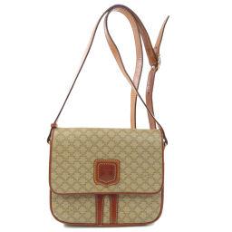 Celine Macadam Patterned Shoulder Bag Women