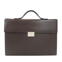 Loewe logo motif business bag men's
