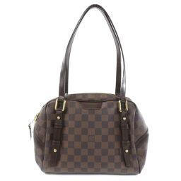Louis Vuitton N41157 Rivington PM Damier Ebene Tote Bag Ladies