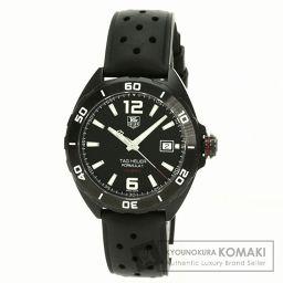 TAG HEUER【タグホイヤー】WAZ2115 フォーミュラ1 キャリバー5 フルブラック 腕時計 ステンレススチール/ラバー