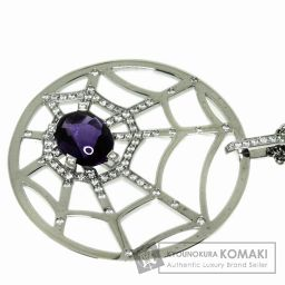 Chaumet【ショーメ】 アメジスト/ダイヤモンド ネックレス K18ホワイトゴールド レディース 【中古】