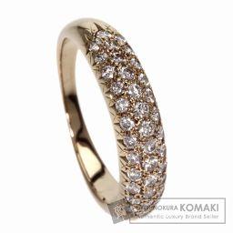 TASAKI【タサキ】 ダイヤモンド リング・指輪 K18イエローゴールド レディース 【中古】