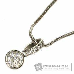 SELECT JEWELRY【セレクトジュエリー】 ダイヤモンド ネックレス K14ホワイトゴールド/K18WG