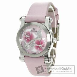 LEONARD【レオナール】AT8Q100 アトムフラワー 腕時計 ステンレス/革 レディース 【中古】