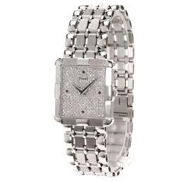 ピアジェ 4Pサファイヤ 文字盤ダイヤモンド 腕時計メンズ