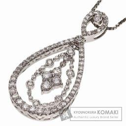 SELECT JEWELRY【セレクトジュエリー】 ダイヤモンド ネックレス プラチナPT900/Pt850 レ