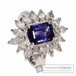 SELECT JEWELRY【セレクトジュエリー】 サファイア/ダイヤモンド リング・指輪 プラチナPT900