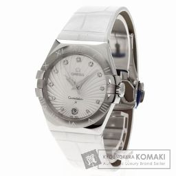 OMEGA【オメガ】 コンステレーション 11Pダイヤモンド 腕時計 ステンレススチール/レザー ユニセックス
