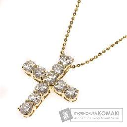 SELECT JEWELRY【セレクトジュエリー】 ダイヤモンド ネックレス K18イエローゴールド レディース