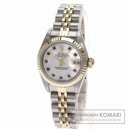 ROLEX【ロレックス】79173NG オイスタパーペチュアル デイトジャスト コンビ 10Pダイヤモンド 腕時