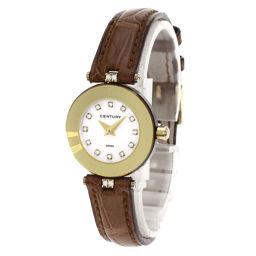 センチュリー プライムタイム 12Pダイヤモンド 腕時計レディース