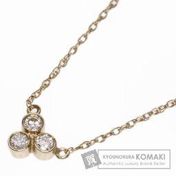 TIFFANY&Co.【ティファニー】 ダイヤモンド ネックレス K18イエローゴールド レディース 【中古】