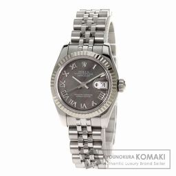 ROLEX【ロレックス】179174NR デイトジャスト 腕時計 ステンレス レディース 【中古】