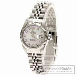 ROLEX【ロレックス】79174NG デイトジャスト 腕時計 K18ホワイトゴールド/SS レディース 【中古