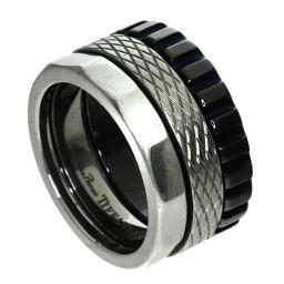 TIFFANY&Co.  パロマキャリパー リング・指輪 チタン/SS レディース
