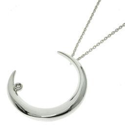 STAR JEWELRY diamond necklace silver ladies