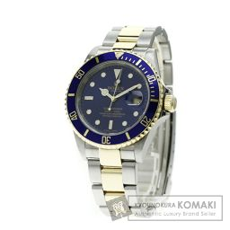 ROLEX【ロレックス】16613T サブマリーナ 腕時計 OH済 ステンレス/SSxK18YG メンズ 【中古