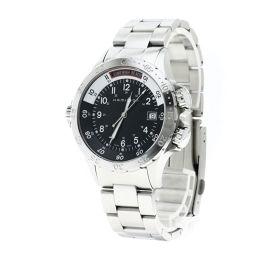 ハミルトン H745110 カーキ ネイビー 腕時計メンズ
