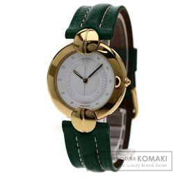 LONGINES  L6.606.2 ルドルフバイロンジン 腕時計 GP/革 メンズ 【中古】【ロンジン】