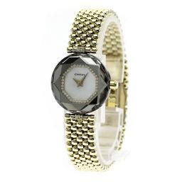 センチュリー タイムジェム ダイヤモンド 腕時計 OH済レディース