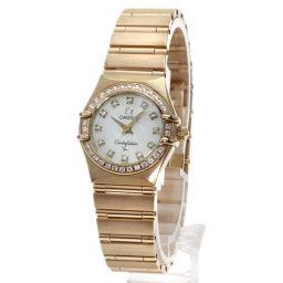 オメガ 1158.75 コンステレーション 12Pダイヤモンド 腕時計レディース