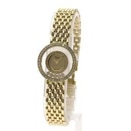 ショパール 20/5691 ハッピーダイヤモンド 腕時計 OH済レディース