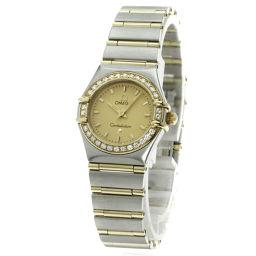 オメガ 1267-10 コンステレーション ダイヤモンド 腕時計レディース