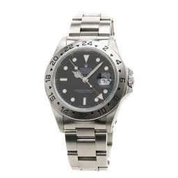ロレックス 16570 エクスプローラー2 腕時計 OH済メンズ