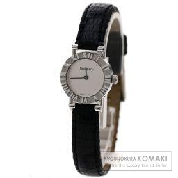 TIFFANY&Co.  アトラス 腕時計 シルバー/リザード レディース 【中古】【ティファニー】