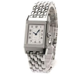 ジャガー・ルクルト 266.8.44 レベルソ デュエット ダイヤモンド 腕時計 OH済レディース