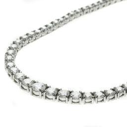 SELECT JEWELRY  ダイヤモンド テニスネックレス ネックレス プラチナPT850 レディース
