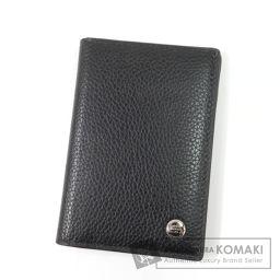Dunhill【ダンヒル】 ロゴ カードケース レザー レディース 【中古】