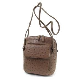 SELECT BAG Long shoulder shoulder bag Ostrich ladies