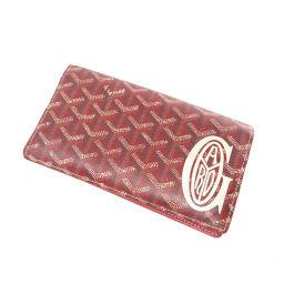 ゴヤール ロゴモチーフ 長財布(小銭入れあり)レディース