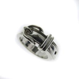 HERMES  ベルトデザイン リング・指輪 シルバー レディース