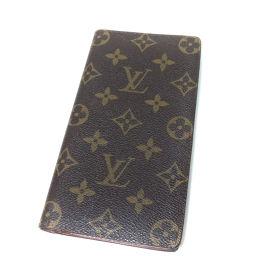 LOUIS VUITTON  M60825 ポルトカルトクレディ円旧型 長財布(小銭入れなし) モノグラムキャン
