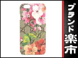 ☆ B Musical City Main Store ☆ Genuine Gucci GG Blooms IPhone 6 Cover [Used] [Exhibit]