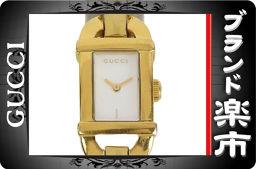 ☆ B music city net shop ☆ authentic Gucci ladies quartz shell dial plate 6800L [pre]