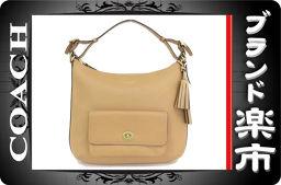 ☆ B Musical City Net Shop ☆ real coach leather 2 WAY shoulder bag 22381 [pre]