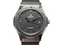 HUBLOT ウブロ クラシックフュージョンチタニウム  腕時計 ウォッチ 511.NX.1171.RX ブラック
