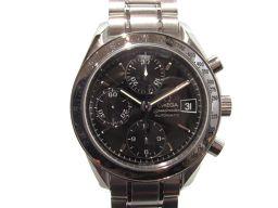 OMEGA オメガ スピードマスター デイト  腕時計  ウォッチ 3513.50 シルバー×ブラック ステンレス