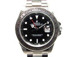 ROLEX ロレックス エクスプローラー2 腕時計  ウォッチ 16570 シルバー×ブラック ステンレススチール