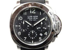 PANERAI パネライ ルミノール クロノデイライト  腕時計  ウォッチ PAM00250 シルバー×ブラック
